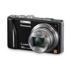 Panasonic Lumix DMC-ZS10 14.1 MP Black Camera w/16x Zoom & GPS