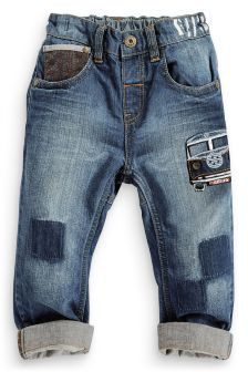 Character 5 Pocket Jeans (3mths-6yrs)