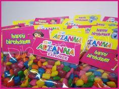 "Photo 16 of 25: Dora the Explorer / Birthday ""Arianna the Explorer"" | Catch My Party Hard fruity imitation candies"