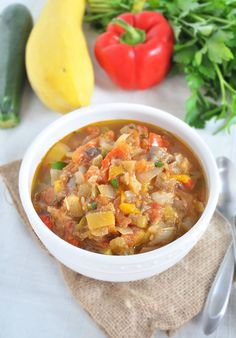 20. Slow Cooker Ratatouille Soup #whole30 #recipes http://greatist.com/eat/whole30-dinner-recipes