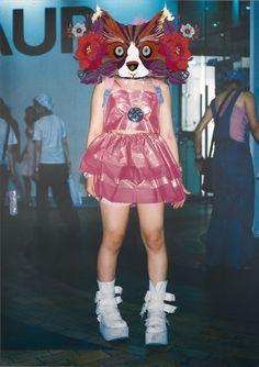 清川あさみ新作個展「TOKYOモンスター」開催。90年代の原宿ファッションがモンスターに