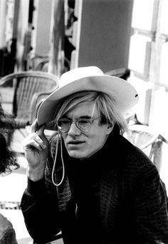 Andy Warhol en 1972.