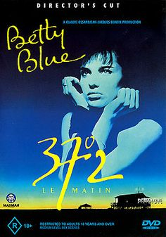 """37* Le Matin"" -37.2 C in the normal morning temperature of a pregnant woman in the  morning. (Called ""Betty Blue"" in English.)"