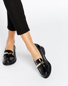 Image 1 of ASOS MONACO Flat Shoes