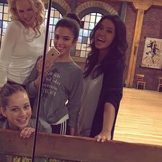 Allie Goodbun (Cassie), Alexandra Chaves(Piper), Erica Prevost (Sloane)and Shelby Bain (Amy) Best Tv Shows, Best Shows Ever, Favorite Tv Shows, Step Tv, Family Channel, Dance Academy, Disney Shows, The Next Step, Always Smile