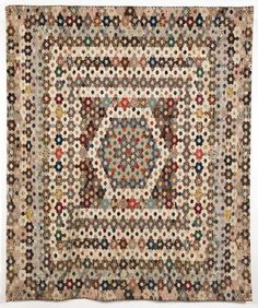 The Mary Prince Coverlet, 1803 - York Quilt Museum