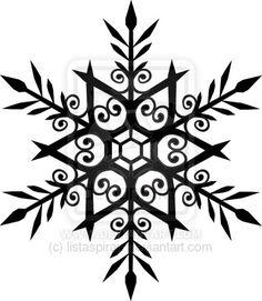 snowflake tattoo by ~listaspiran on deviantART