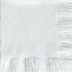 "Beverage Napkins 9-7/8""X7-7/8"" 50/Pkg-White"