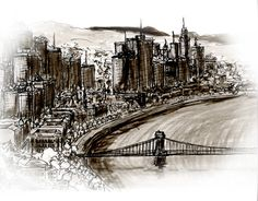 """Check out new work on my @Behance portfolio: """"Budapest 2046 ?"""" http://be.net/gallery/35628043/Budapest-2046-"""