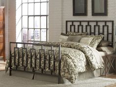 Modern style clearance bed at Steinhafels