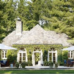 Bedford Poolhouse: Architectural Digest
