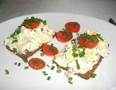 Schinken-Kren-Aufstrich - Rezept - ichkoche.at Potato Salad, Sandwiches, Potatoes, Eggs, Meat, Breakfast, Ethnic Recipes, Food, Ham