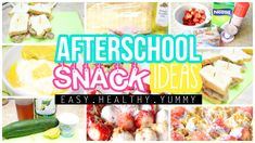 WE ALL LOVE FOOD. I decided to make this video to show you guys 3 different quick, easy, healthy & yummy after school snack ideas in less than 3 minutes! All of these snack ideas are delicious, healthy, and super easy to make! From desserts to appetizers to main courses, this video will hopefully inspire you! WARNING: May make you extremely hungry ;)  #food #snack #easy #diy #yummy #delicious #healthy #quick #ideas #afterschoolsnackideas