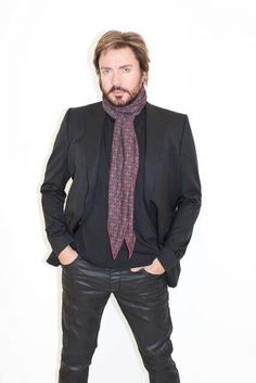Simon le Bon~I don't really like beards, only on very few men-but I think Simon's beard  looks great on him!