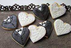 Mansikkamäki: Fantasiapiparit:häät Sugar, Cookies, Sweet, Party, Wedding Ideas, Food, Crack Crackers, Candy, Eten