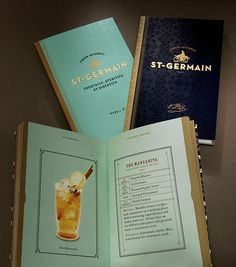 Sandstrom Partners: St. Germain Packaging and Collateral