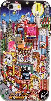 Charles Fazzino #PopArt Phone Case: Broadway Musical. Available for iPhone 6, 6 Plus and Galaxy S6 a in 5 different collectible designs. Three Available for iPhone 7 and iPhone 7 Plus. Constructed with sturdy high-density polycarbonate and a protective thermoformed polyurethane interior lining. Hand embellished with genuine Swarovski crystals.  #NYC