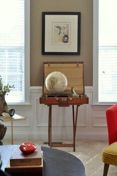Easy Suitcase Globe
