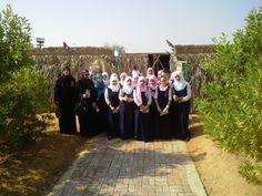 زيارات المدارس للقرية التراثية زيارة مدرسة فلسطين
