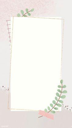 Paper Background Design, Simple Background Images, Powerpoint Background Design, Flower Background Wallpaper, Flower Backgrounds, Framed Wallpaper, Iphone Wallpaper, Instagram Frame Template, Images Esthétiques