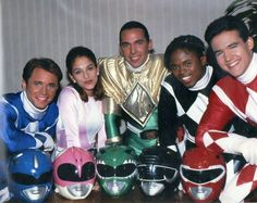 Power Rangers. Almost entirely responsible for my obsession with tight clothing and color coordination. The silver ranger will always have my heart!