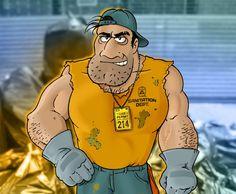 Trash Manhole™ -- Anonymous' Super Sanitation Engineer!