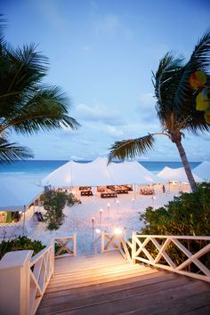 Destination Wedding In Pink Church On Harbour Island The Bahamas