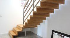 Faltwerktreppe aus Massivholz von BÄTHE Treppen
