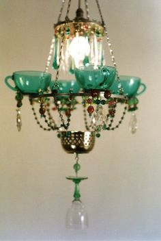 Unusual chandelier
