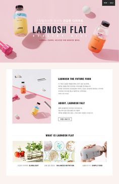 A Website Creation Guide For Creating Spectacular Compelling Websites Website Layout, Web Layout, Layout Design, Cosmetic Web, Cosmetic Design, Newsletter Layout, Newsletter Design, Food Web Design, Ecommerce Web Design