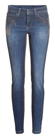Mit Dream Skinny Authentic by MAC präsentiert sich die beliebte Dream Jeans in einem besonders kernigen Look: Authentische Waschungen machen diese Hose zu einem absoluten...