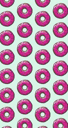 #donuts #simpsons #wallpaper