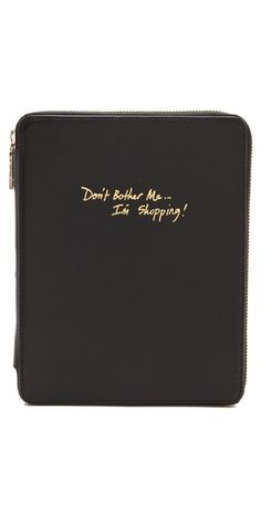this may have been made for me -- Don't Bother Me iPad Case // Rebecca Minkoff #shopping #justformom