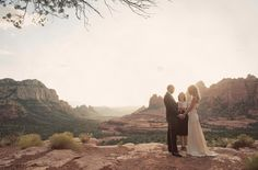 I want a simple wedding...in the grand canyon at sunset...