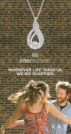 The Interwoven collection at Kay is a special gift to remind her how you feel.