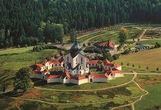 Kudy z nudy - Zelená hora - poutní kostel sv. Jana Nepomuckého u Žďáru nad Sázavou