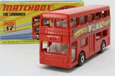 Matchbox/Lesney 17f; The Londoner Daimler Bus; Carnaby Street; Excellent Boxed - http://www.matchbox-lesney.com/?p=9292