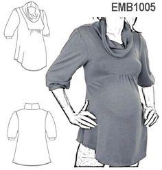 7edea8376 15 imágenes sensacionales de camisas para embarazadas