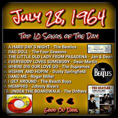 Rock Songs, Rock Music, Top Ten Songs, Positive Songs, Johnny Rivers, Music Themed Parties, Rock Radio, Music Mix, 70s Music