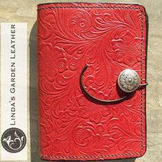 Handmade Genuine Leather Embossed Kindle Cover