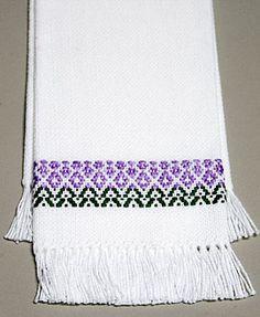 lavendar towel