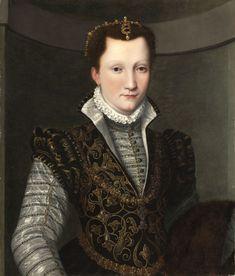 c.1560 Agnolo Bronzino - Portrait of a Lady
