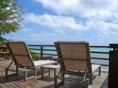 Terrace with a view...  http://www.beachhousesmauritius.com/seestern-iii.html