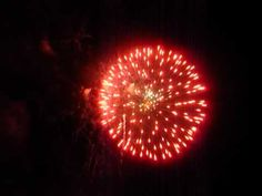 Ciaro East Durham New York Firework show at the Blackthorn Resort.
