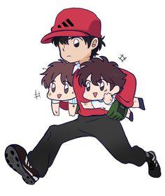 ɪᴍᴀ́ɢᴇɴᴇs ʏ ᴍᴇᴍᴇs ᴅᴇ ᴄᴀᴘɪᴛᴀ́ɴ ᴛsᴜʙᴀsᴀ 😹❤️ - ⚽ Tsubasa y Misaki ⚽ - Wattpad Captain Tsubasa, Chibi, Kawaii Faces, Harry Potter Anime, Fanart, Starco, Diabolik Lovers, Kaito, Fujoshi