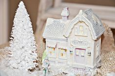 DIY Dollar Store Christmas Village by the36thavenue.com