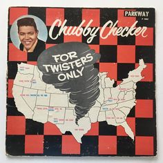Chubby Checker - For Twisters Only LP Vinyl Record Album, Parkway - P 7002, Rock 'n Roll, 1961