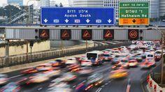 Rush hour Tel Aviv