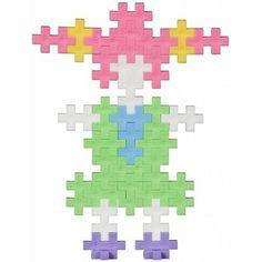 Mini Pastel 35 - Plus-Plus Lego, Preschool, Template, Construction, Activities, Mini, Pattern, Children, Home