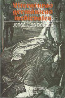 Descargar Literaturas Germánicas Medievales Jorge Luis Borges En Pdf Libros Geniales Jorge Luis Borges Borges Literatura